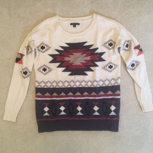 Americans Eagle Aztec Sweater